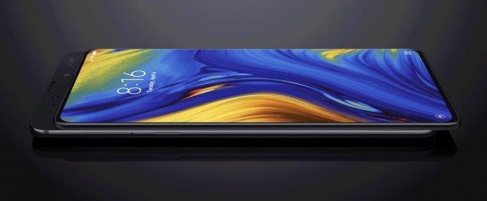 Xiaomi Mi Mix 3 5 G Design der Front
