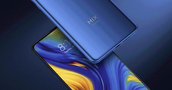 Xiaomi Mi Mix 3 5G von zwei Seiten