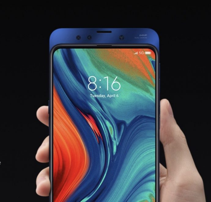 Xiaomi Mi Mix 3 5G Slider-Phone