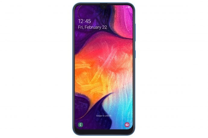 Samsung Galaxy A50 Frontansicht