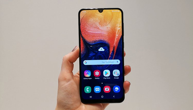 Samsung Galaxy A50 im Hands-On