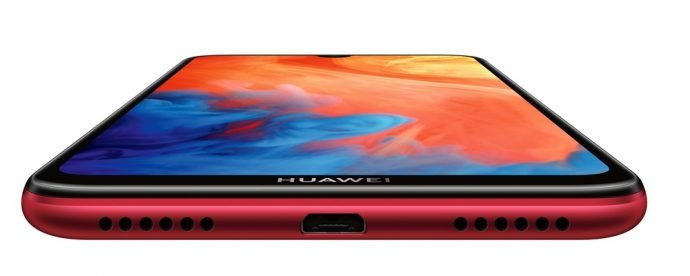 Huawei Y7 unten