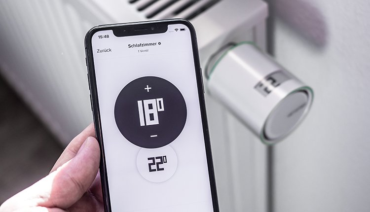Netatmo Thermostat Smartphone App