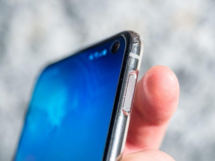 Fingerabdruckscanner Powerbutton Samsung Galaxy S10e