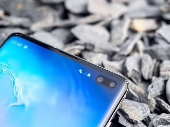 duale Frontkamera Samsung Galaxy S10+
