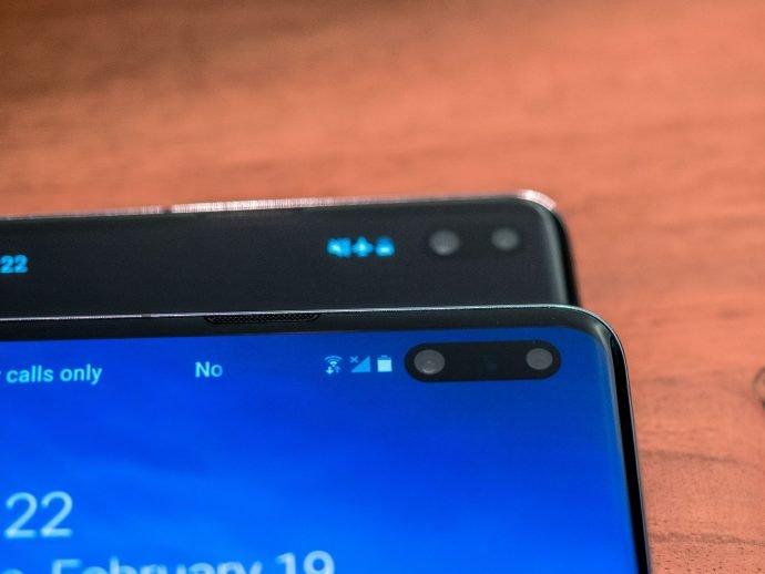 ToF-Kamera vorne Samsung Galaxy S10 5G