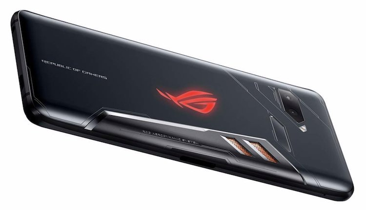 Asus RoG Phone Rückseite Press