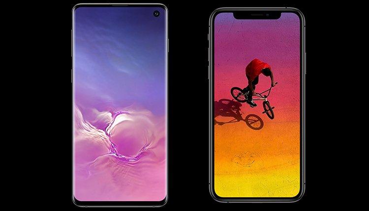 Samsung Galaxy S10 Und Iphone Xs Im Grossen Handy Vergleich