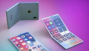 Konzept des faltbaren iPhones