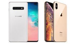 Samsung Galaxy S10+ und iPhone Xs Max im Vergleich