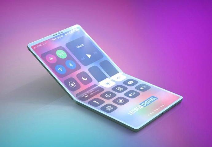 Sie so das faltbare iPhone aus?