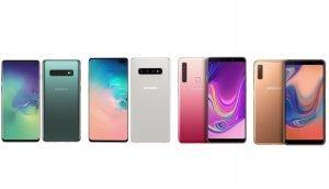 Galaxy-Smartphones im Vergleich