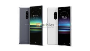 Sony Xperia 1 Design im Netz aufgetaucht