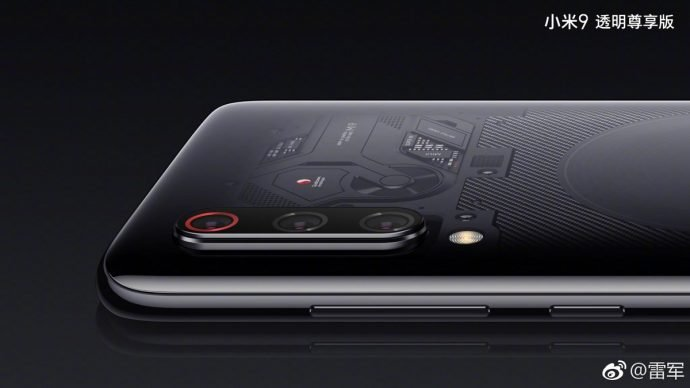 Xiaomi Mi 9-Rückseite