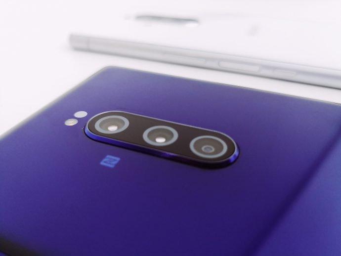 Die Triple-Kamera des Sony Xperia 1
