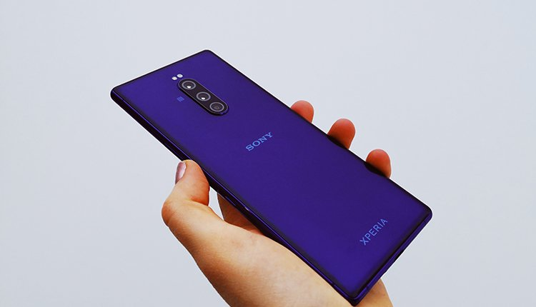 Das Sony Xperia 1 im Hands-On