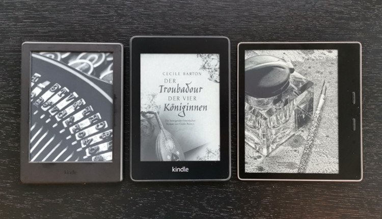 Amazon Kindle, Kindle Paperwhite, Kindle Oasis Sperrbildschirm