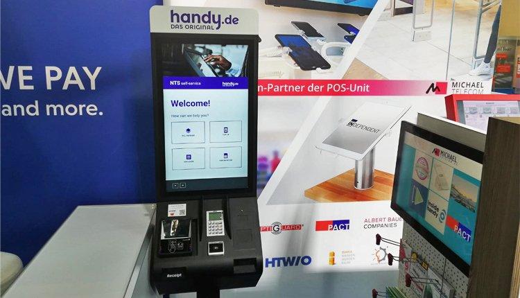 Der handy.de-SIM-Kartenautomat