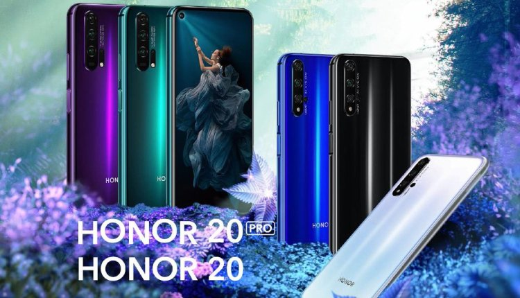 Honor 20 und Honor 20 Pro.
