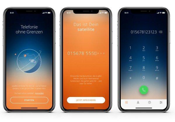 Sipgate satellite-App auf iOS