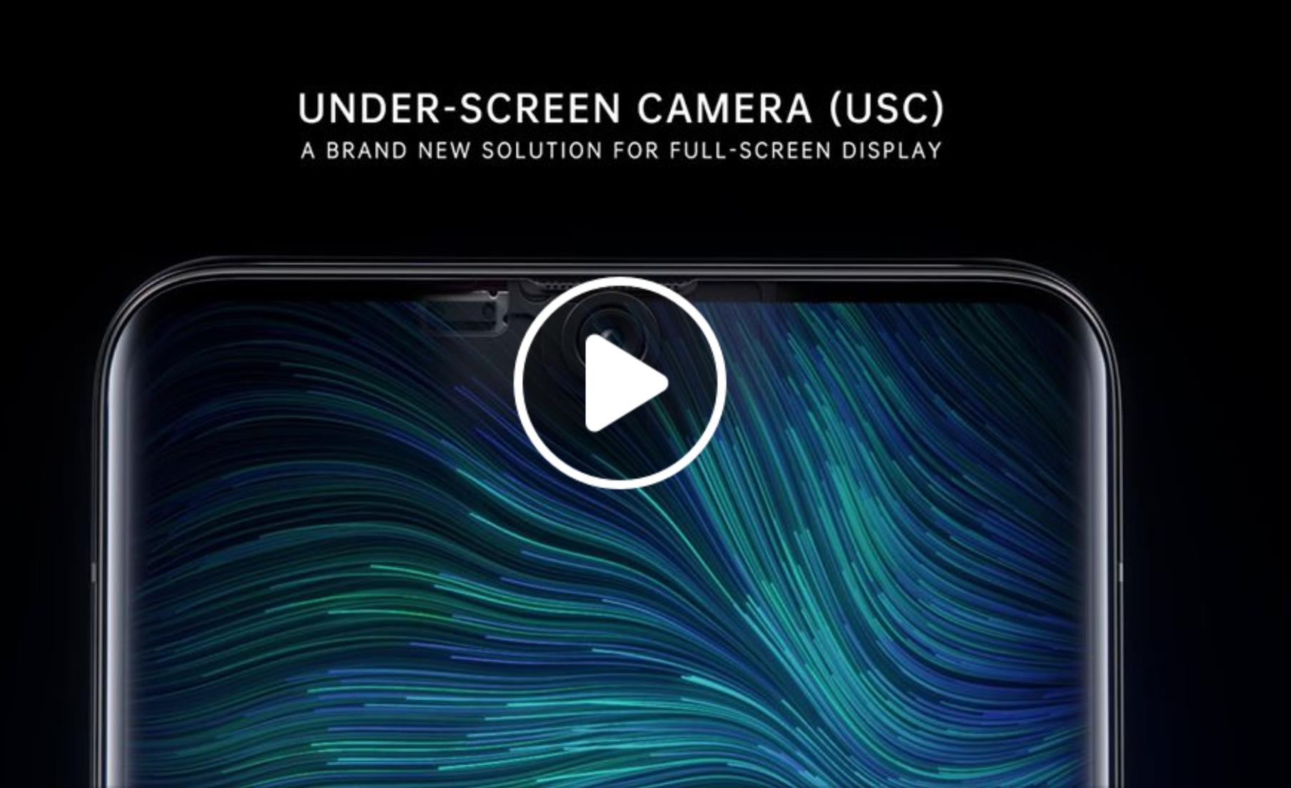 Oppos neues Smartphone verbaut die Selfie-Kamera unter dem Display