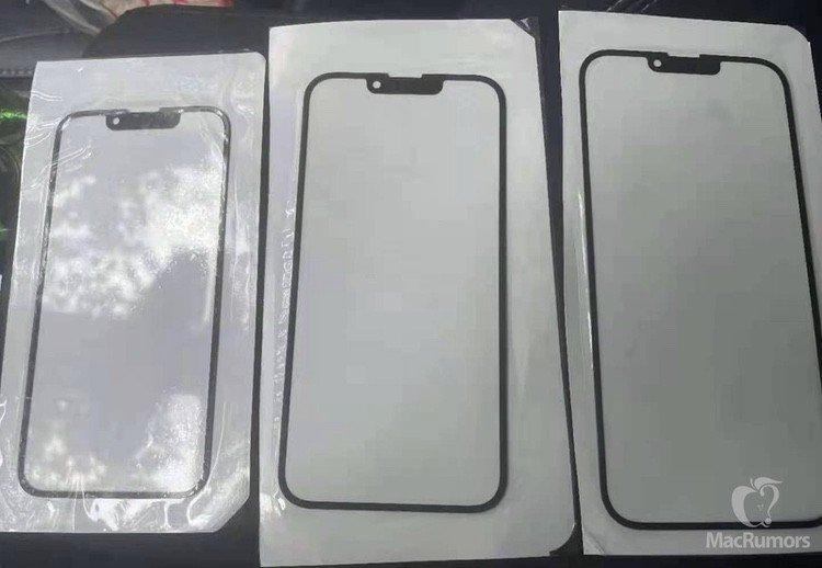 iPhone 13 Display-Glas Leak