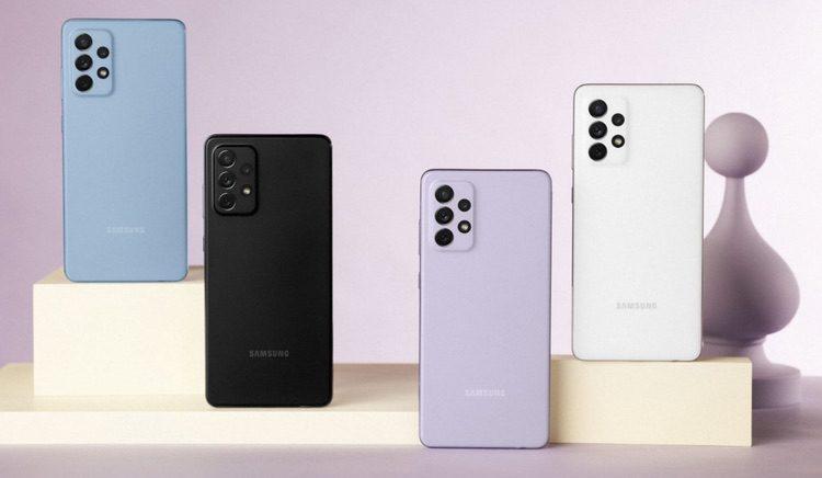 Samsung Galaxy A52 und A72