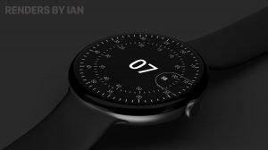 Google Pixel Watch Render Concept