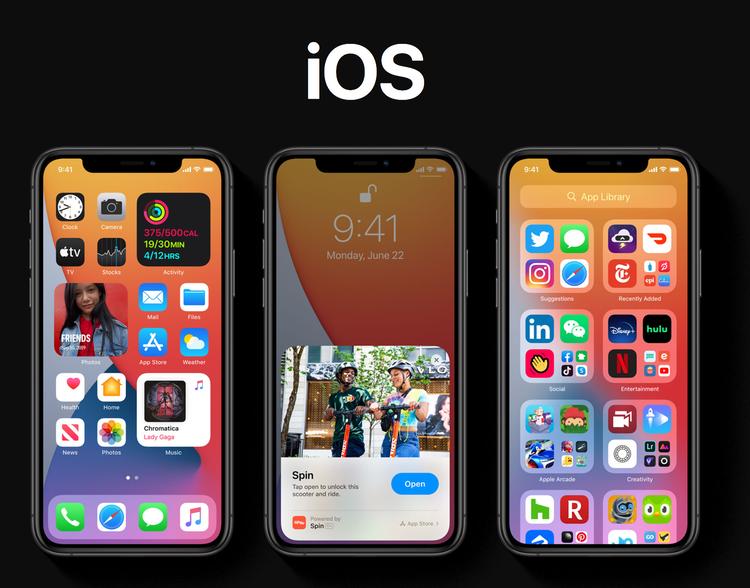 iOS 14 Update Splashscreen