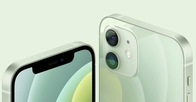 iPhone 12 mini Kamera Anschnitt