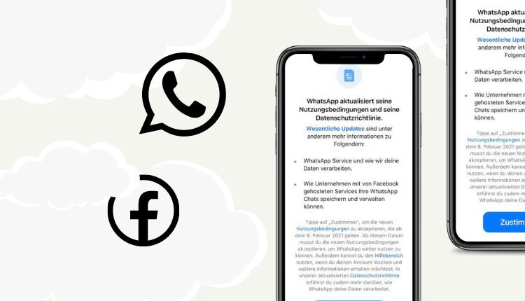 WhatsApp neue AGB Facebook