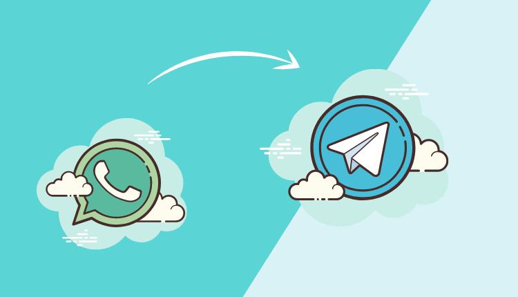 WhatsApp-Chats auf Telegram übertragen