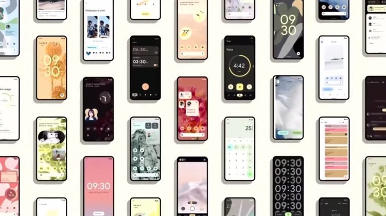 Google Android 12 Design