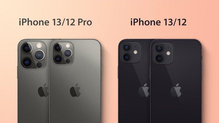 Apple iPhone 13 (Pro) Vergleich Leak