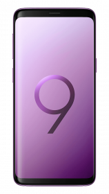 Samsung Galaxy S9 - Lilac - Front