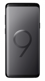 Samsung Galaxy S9 + - Midnight Black - Front