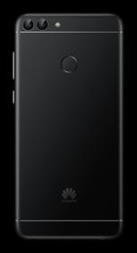 Huawei P Smart + Schwarz - Hinten