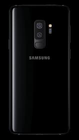 Samsung Galaxy S9 + - Midnight Black - Hinten